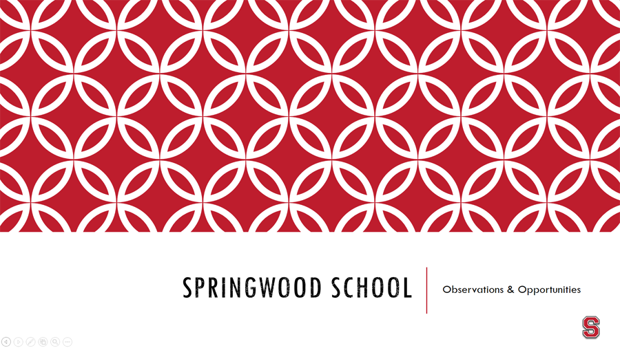 Springwood School projects